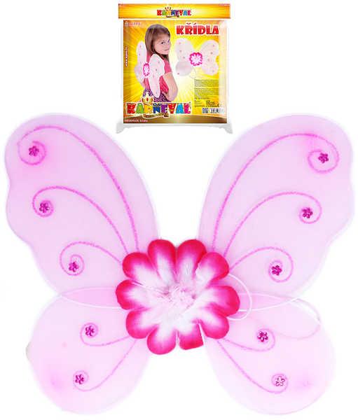KARNEVAL Křídla motýlí (104-150cm) 3-10 let KARNEVALOVÝ DOPLNĚK