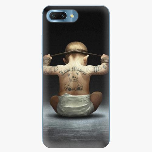 Silikonové pouzdro iSaprio - Crazy Baby - Huawei Honor 10