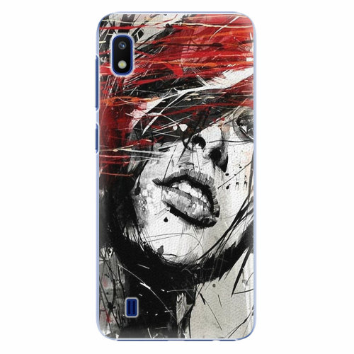 Plastový kryt iSaprio - Sketch Face - Samsung Galaxy A10