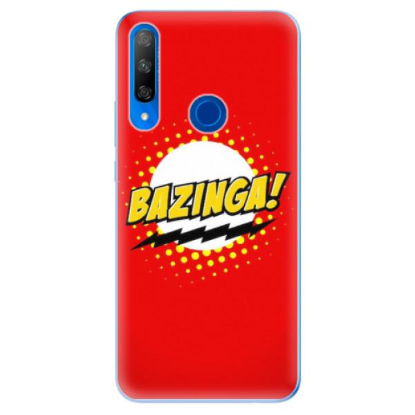 Odolné silikonové pouzdro iSaprio - Bazinga 01 - Huawei Honor 9X
