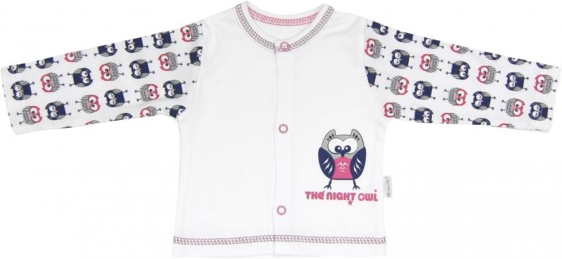 Bavlněná košilka Sovy, roz.