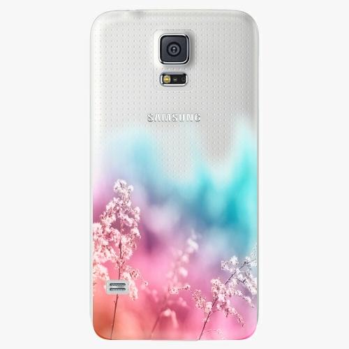 Plastový kryt iSaprio - Rainbow Grass - Samsung Galaxy S5
