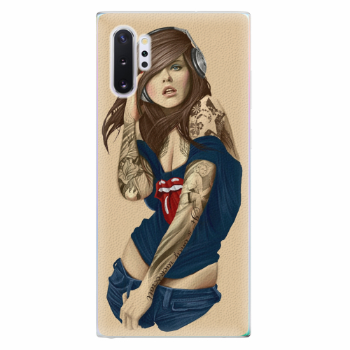 Silikonové pouzdro iSaprio - Girl 03 - Samsung Galaxy Note 10+