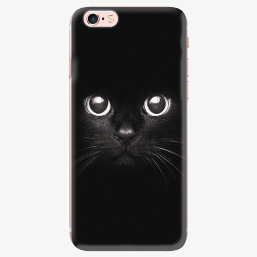 Plastový kryt iSaprio - Black Cat - iPhone 7