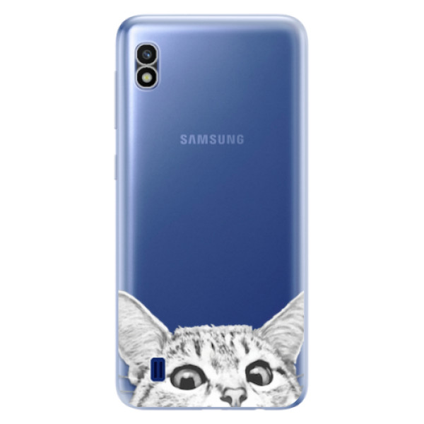Odolné silikonové pouzdro iSaprio - Cat 02 - Samsung Galaxy A10