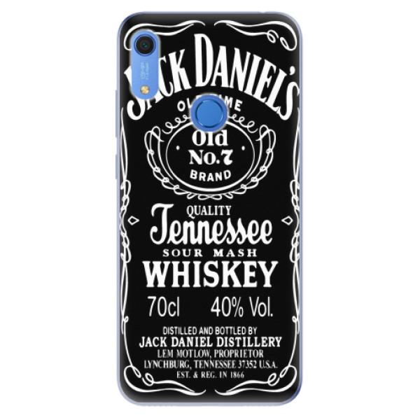 Odolné silikonové pouzdro iSaprio - Jack Daniels - Huawei Y6s