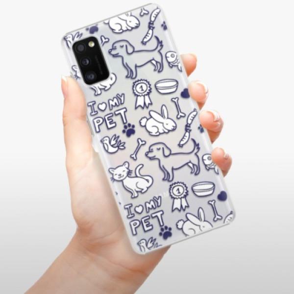 Plastové pouzdro iSaprio - Love my pets - Samsung Galaxy A41