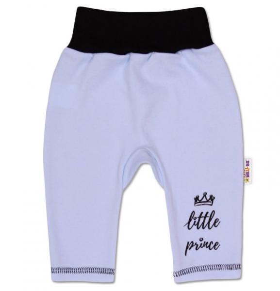 Baby Nellys Bavlněné tepláčky, Little Prince