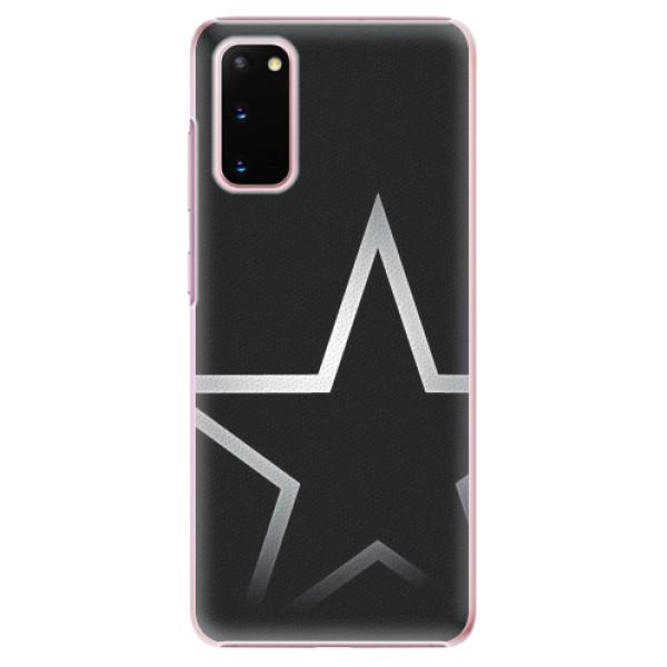 Plastové pouzdro iSaprio - Star - Samsung Galaxy S20