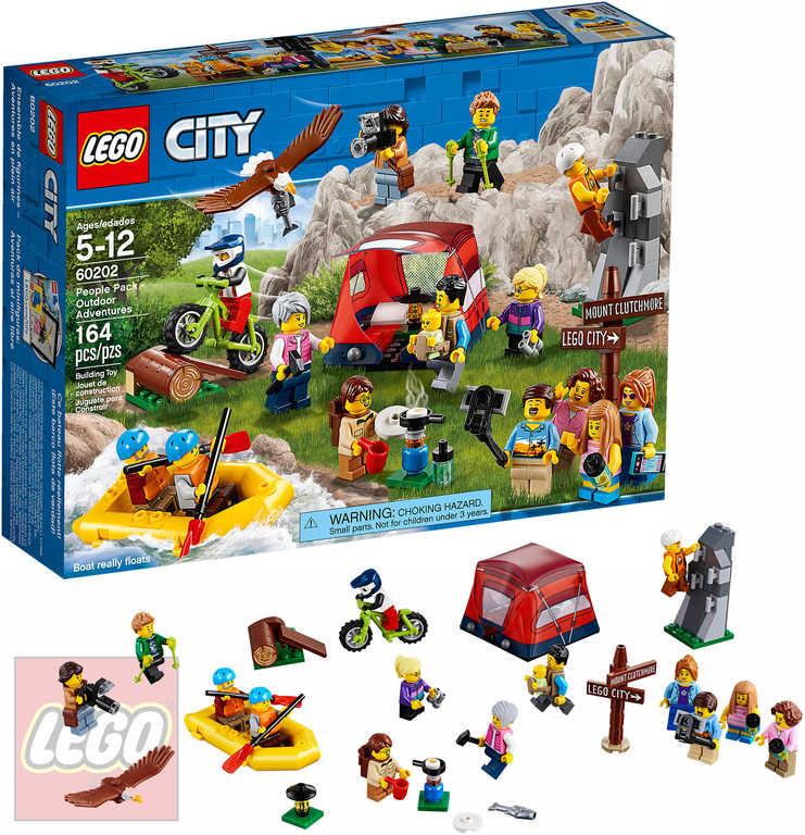 LEGO CITY Sada postav Dobrodružství v přírodě doplněk ke stavebnici 60202