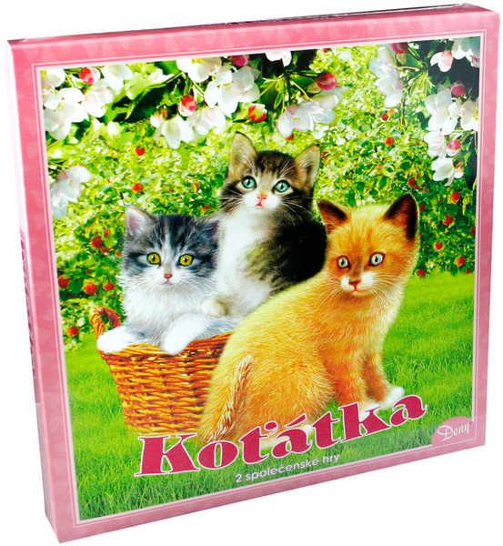 HYDRODATA Hra Koťata * SPOLEČENSKÉ HRY *