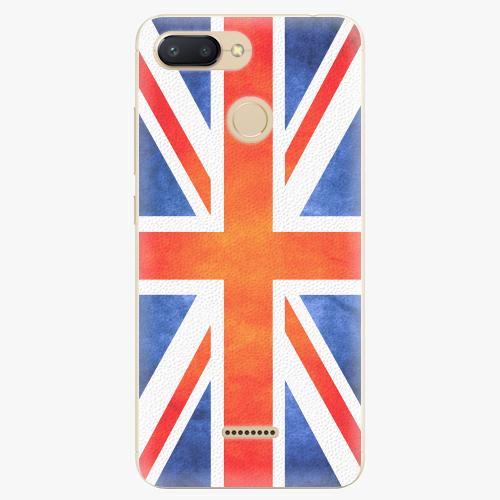Plastový kryt iSaprio - UK Flag - Xiaomi Redmi 6