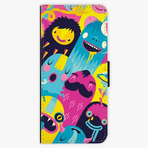 Flipové pouzdro iSaprio - Monsters - Samsung Galaxy Note 8