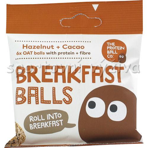Breakfast Protein Balls 45g hazelnut + cacao