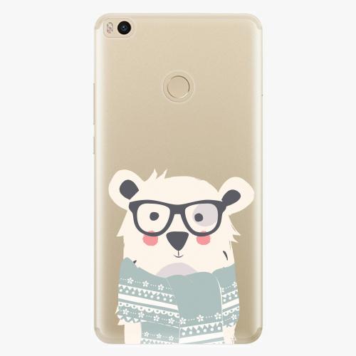 Plastový kryt iSaprio - Bear with Scarf - Xiaomi Mi Max 2
