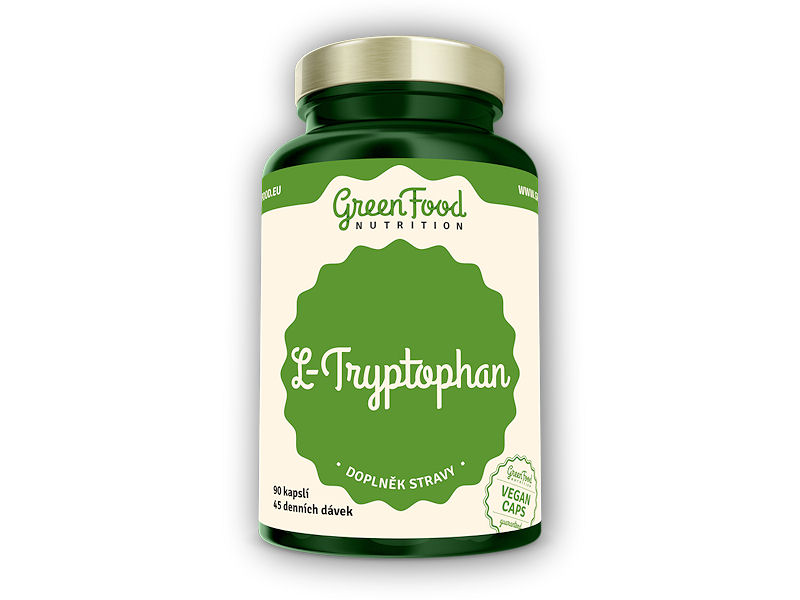 L-Tryptophan 90 vegan kapslí