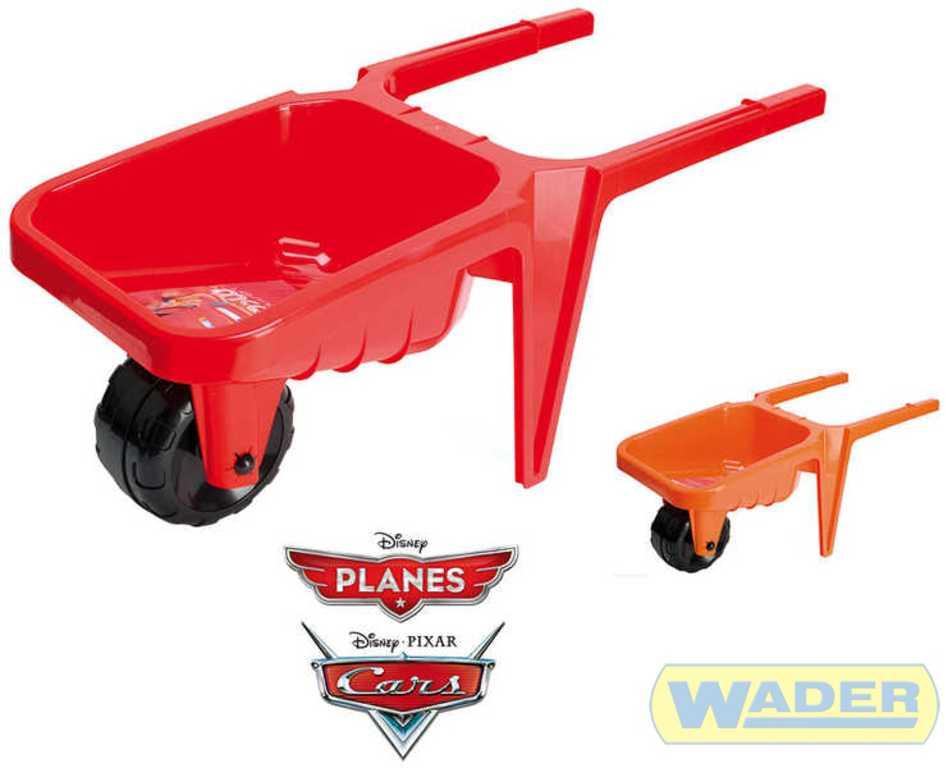 WADER Kolečko na písek plastové Cars, Planes 77380