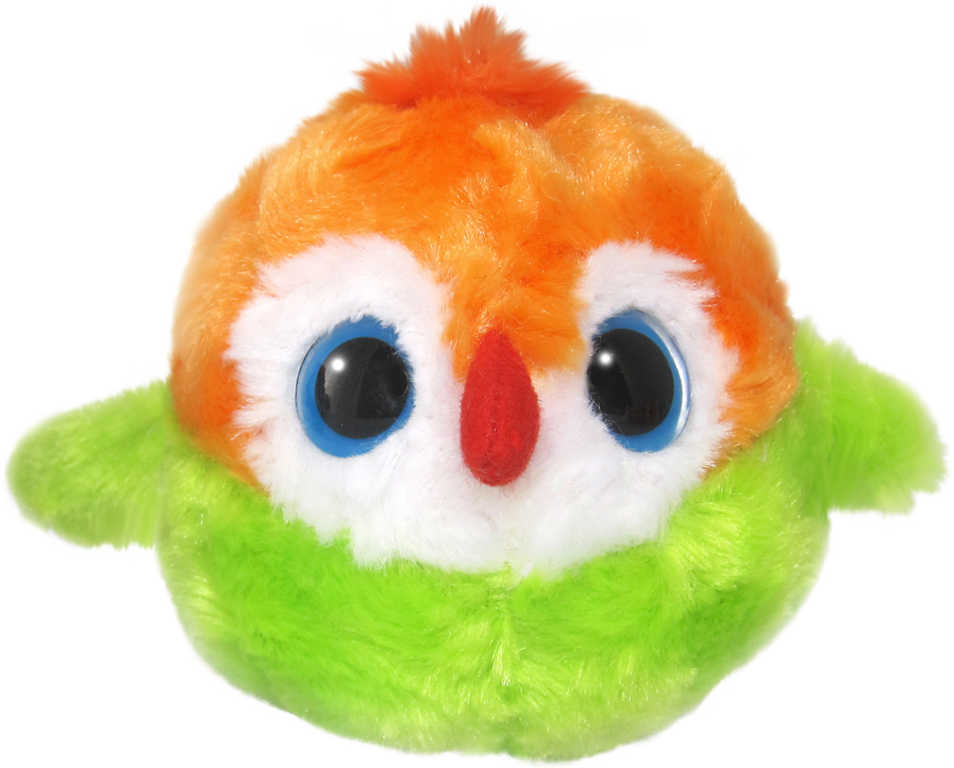 PLYŠ Yoo Hoo Papoušek zakulacené zvířátko YooHoo & Friends