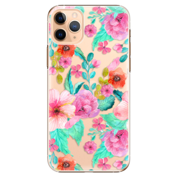 Plastové pouzdro iSaprio - Flower Pattern 01 - iPhone 11 Pro Max