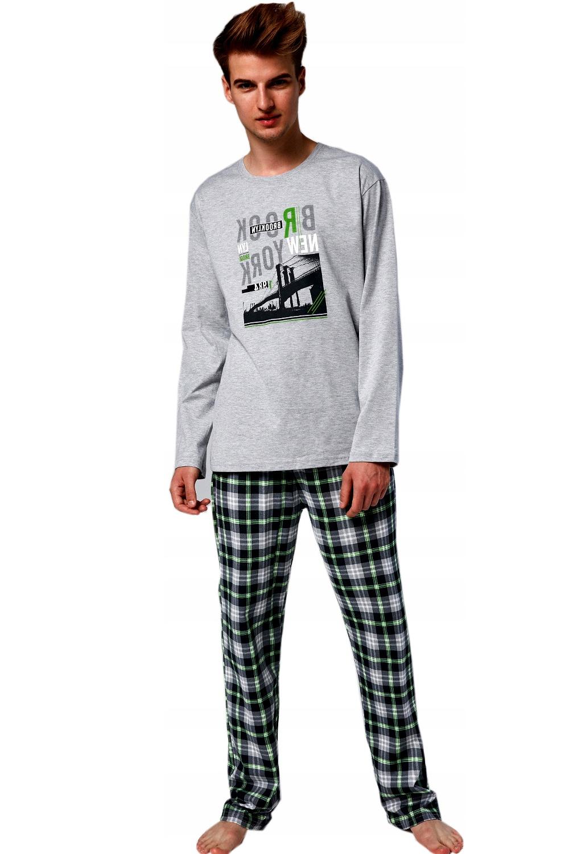 Chlapecké pyžamo 553/32 Brooklyn - Melanž/164/XS