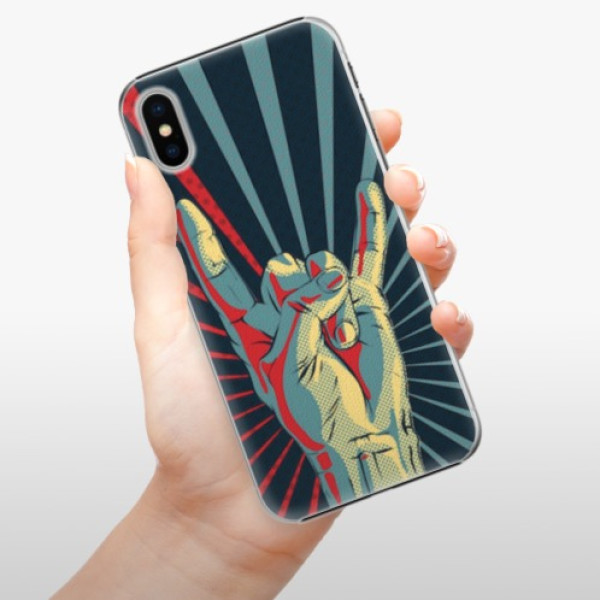 Plastové pouzdro iSaprio - Rock - iPhone X