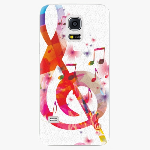 Plastový kryt iSaprio - Love Music - Samsung Galaxy S5 Mini