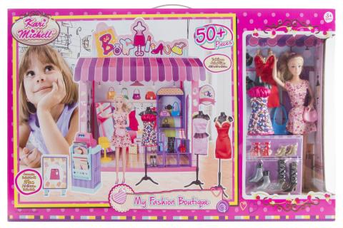 Panenka a obchod s oděvy