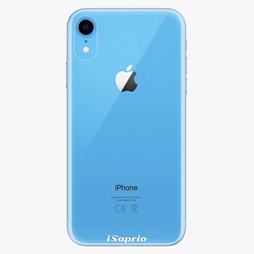 Plastový kryt iSaprio - 4Pure - průhledný matný - iPhone XR