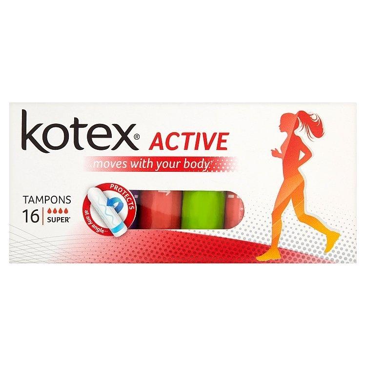 Active Super tampony 16 ks