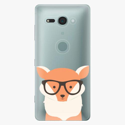 Plastový kryt iSaprio - Orange Fox - Sony Xperia XZ2 Compact