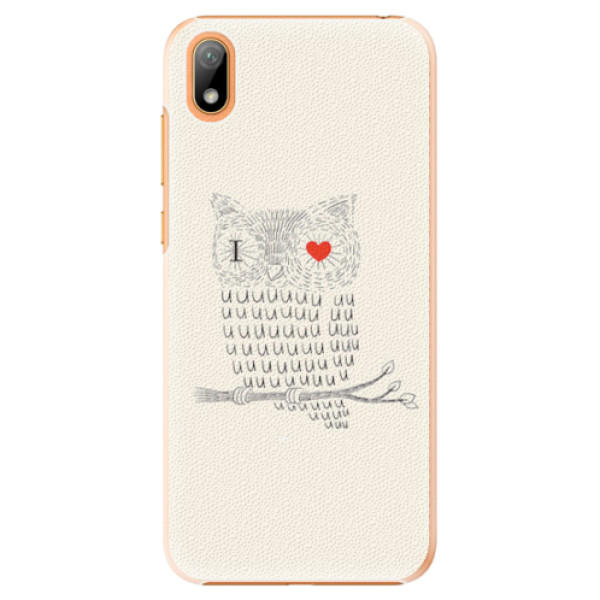 Plastové pouzdro iSaprio - I Love You 01 - Huawei Y5 2019