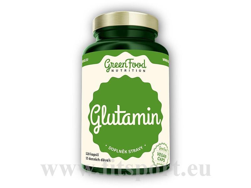 Glutamin 120 vegan kapslí