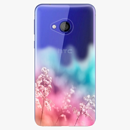 Plastový kryt iSaprio - Rainbow Grass - HTC U Play