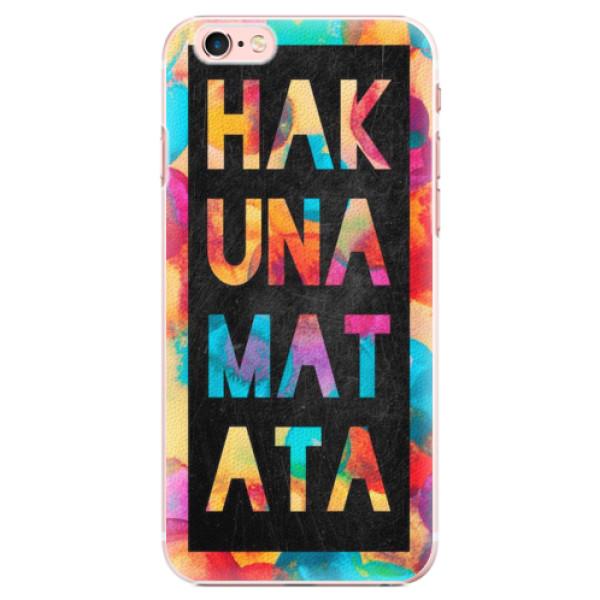 Plastové pouzdro iSaprio - Hakuna Matata 01 - iPhone 6 Plus/6S Plus