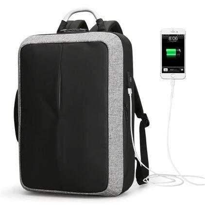 Praktický cestovní batoh - Šedá