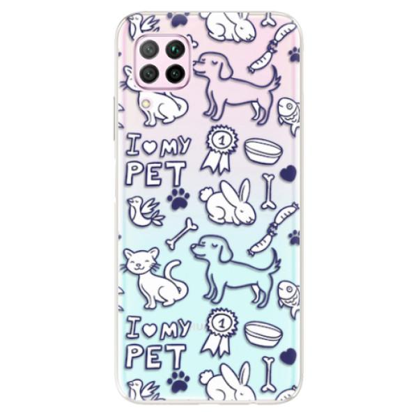 Odolné silikonové pouzdro iSaprio - Love my pets - Huawei P40 Lite