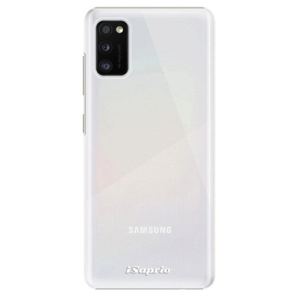 Plastové pouzdro iSaprio - 4Pure - mléčný bez potisku - Samsung Galaxy A41