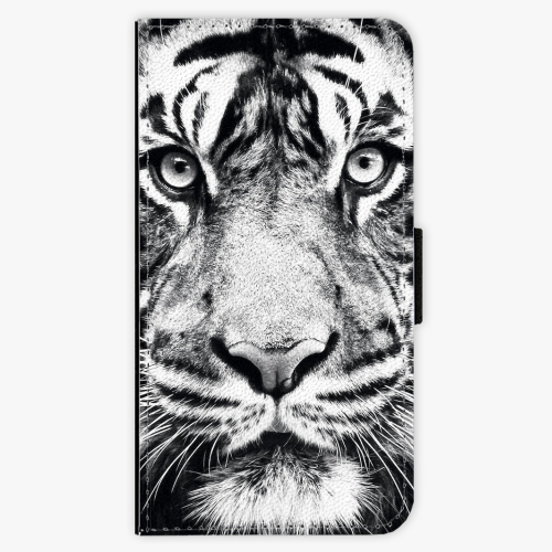 Flipové pouzdro iSaprio - Tiger Face - iPhone X