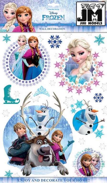 JIRI MODELS 3D Samolepky dětské na zeď Ledové Království (Frozen)