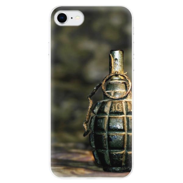 Odolné silikonové pouzdro iSaprio - Grenade - iPhone SE 2020