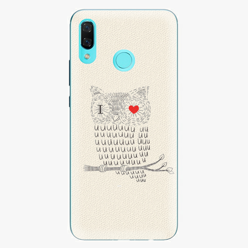 Plastový kryt iSaprio - I Love You 01 - Huawei Nova 3