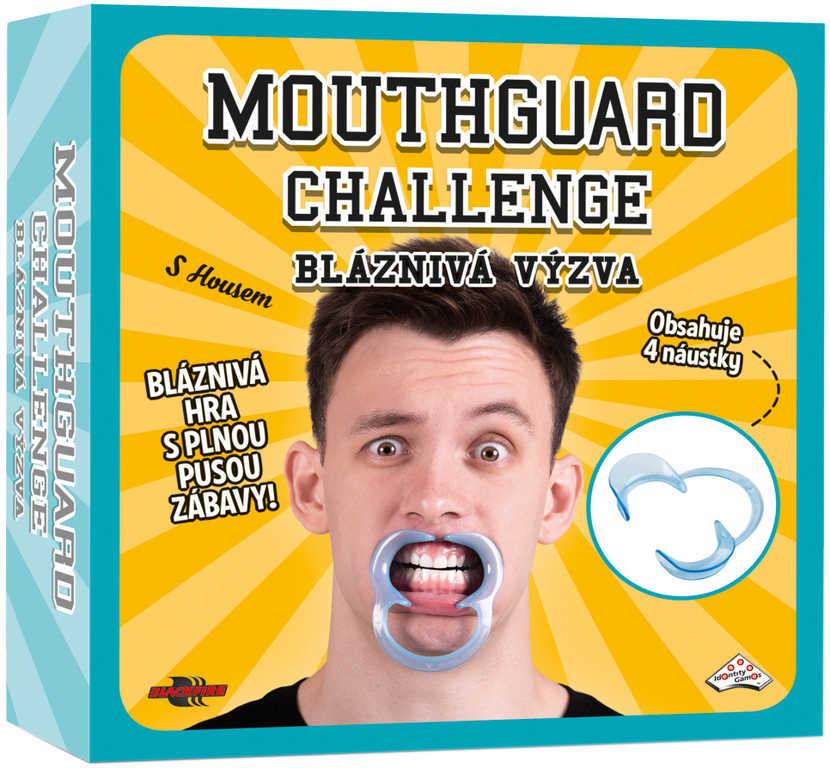 ADC HRA Mouthguard Challenge Bláznivá výzva *SPOLEČENSKÉ HRY*