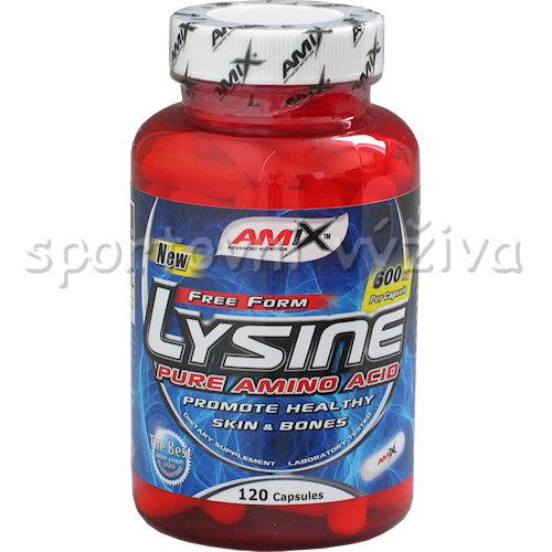 Lysine 600mg 120 kapslí