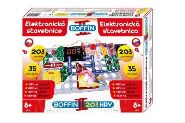stavebnice-boffin-ii-203-elektronicka-203-projektu-na-baterie-35ks-v-krabici-40x30x7cm