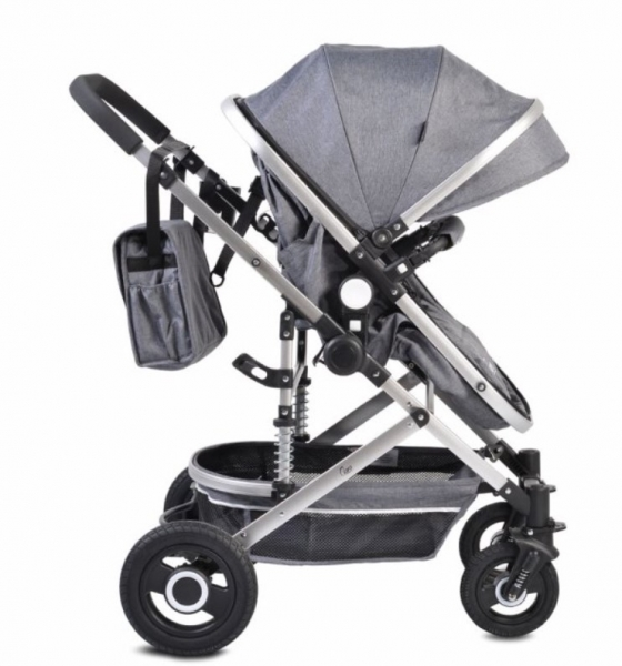 Moni Dětský sportovní kočárek 2v1, Ciara 2021 - šedý