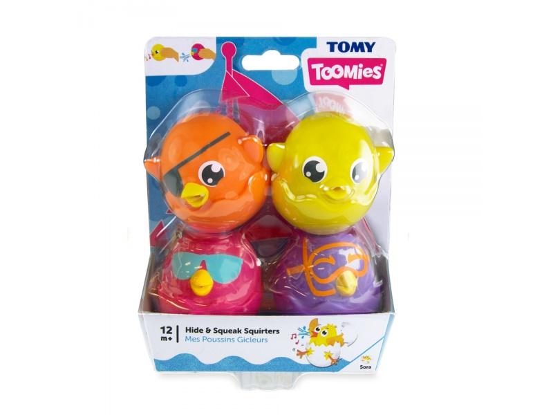 TOOMIES - Veselá pískací a stříkací zvířátka