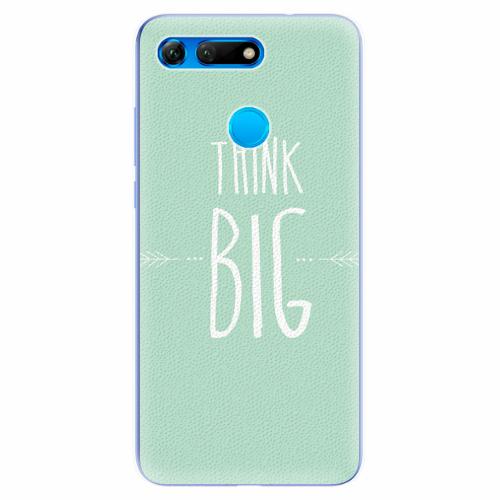 Silikonové pouzdro iSaprio - Think Big - Huawei Honor View 20