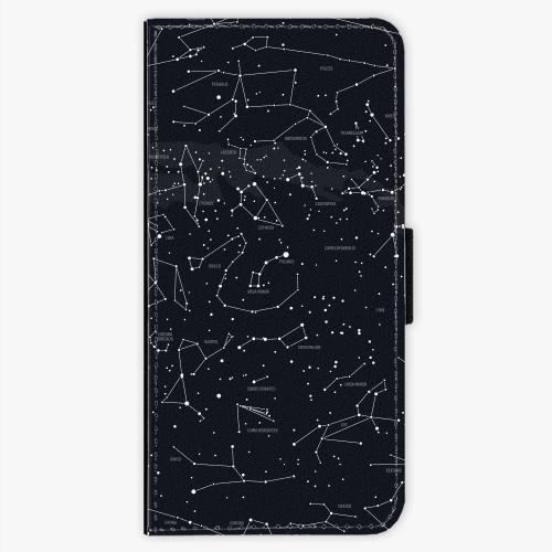 Flipové pouzdro iSaprio - Night Sky 01 - Samsung Galaxy S8