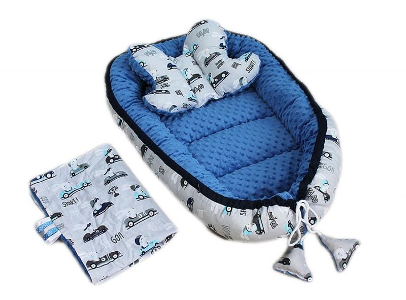 baby-nellys-sada-komplet-oboustranne-hnizdecko-minky-60x90cm-zavody-minky-modre
