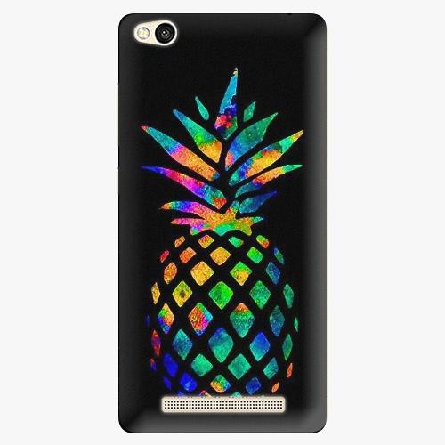 Plastový kryt iSaprio - Rainbow Pineapple - Xiaomi Redmi 3